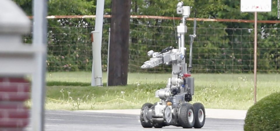 Nigeria needs the robot used by Dallas Police to kill suspect