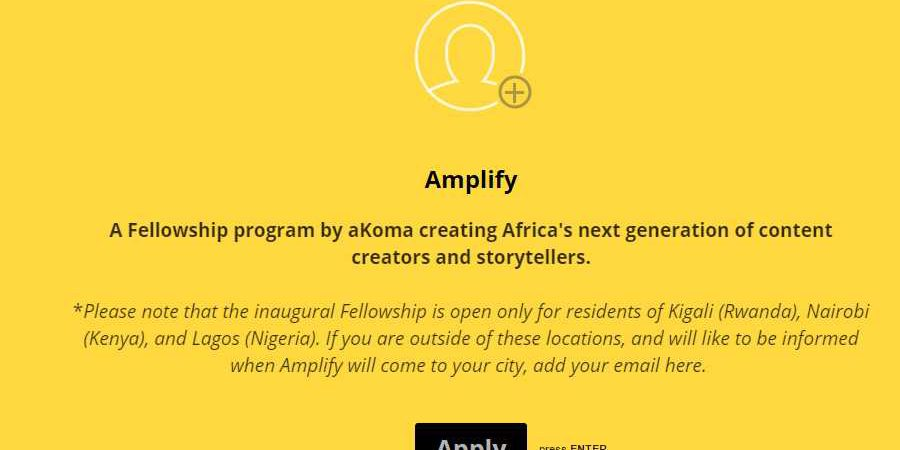 Apply to be among 25 Fellows of Mastercard Foundation in Lagos