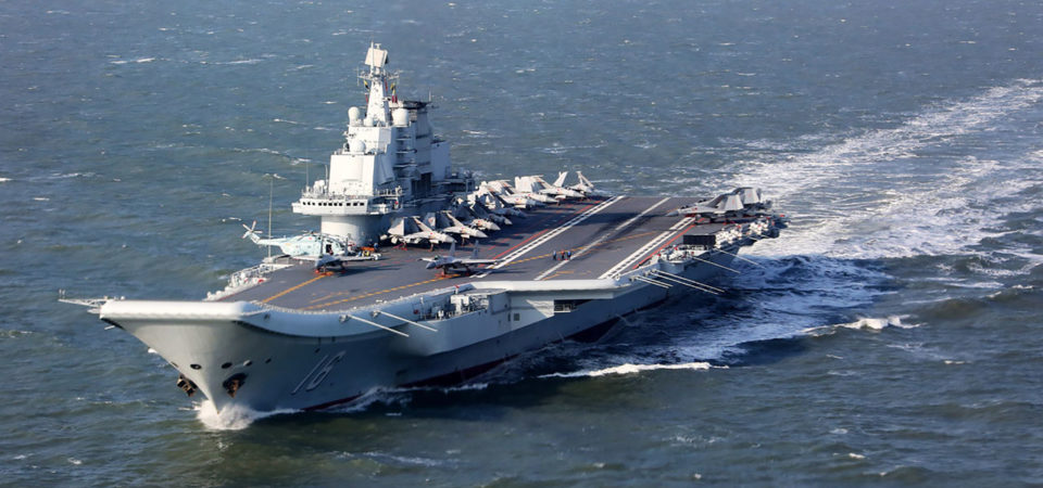 Liaoning, China's only aircraft carrier, is stunning [photo]