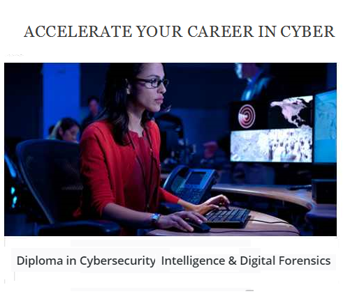 Diploma in Cybersecurity Intelligence & Digital Forensics