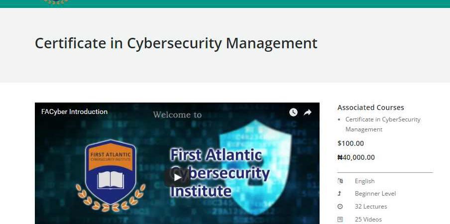 The promise of ICT in Nigeria and the challenges of cybersecurity