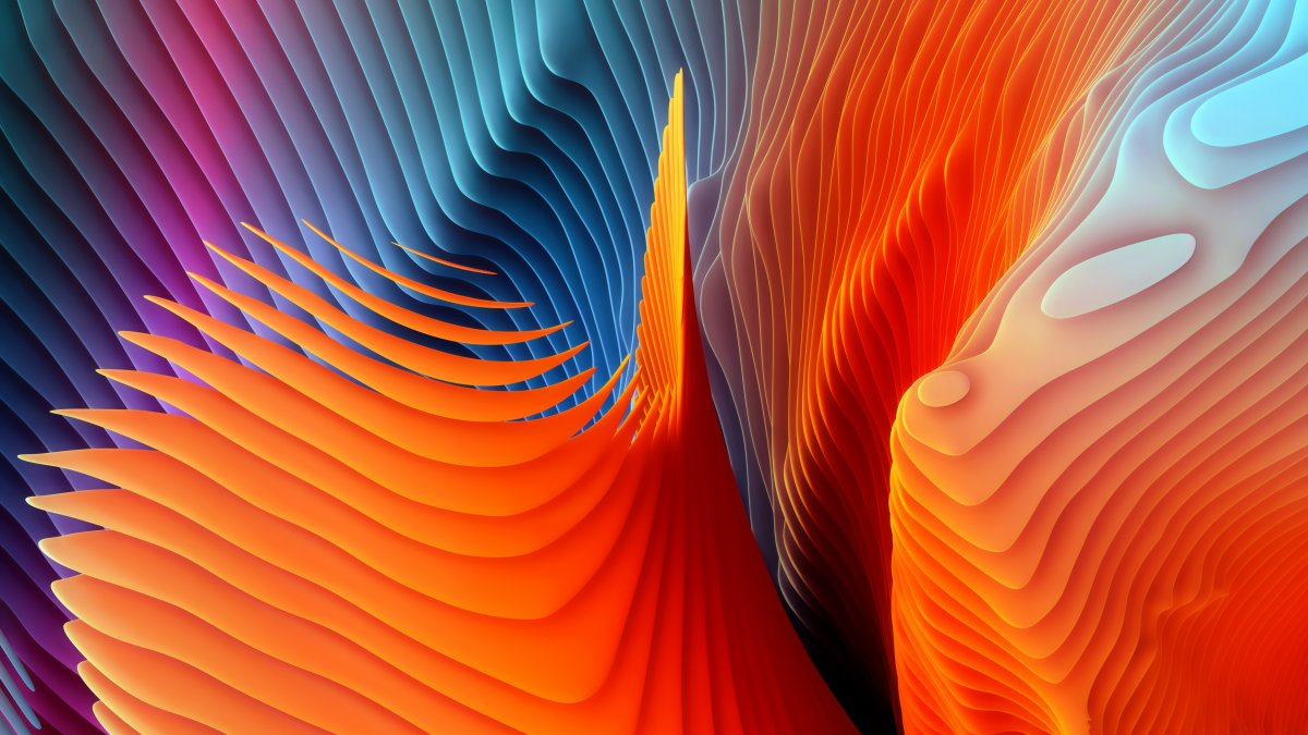 The Best Three Wallpapers from Apple Latest Updates