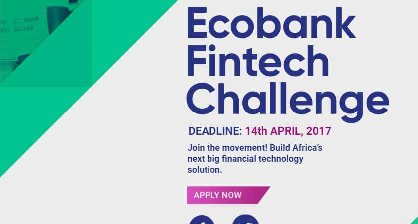 Ecobank Fintech Challenge to Award $500,000 to Winning Startups
