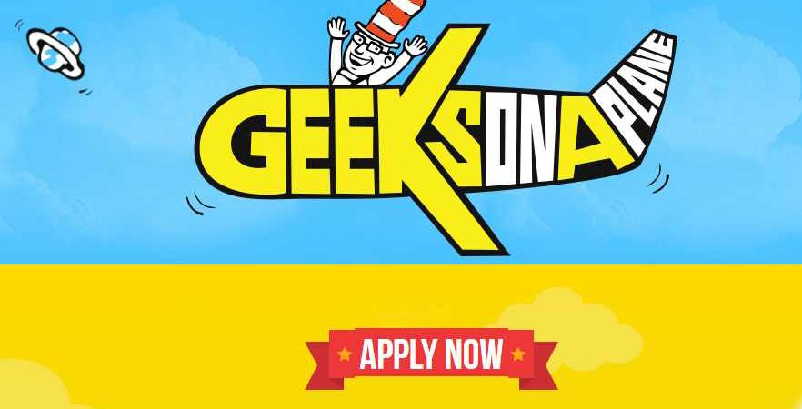 Apply to Attend Geeks on a Plane Africa March, 2017 if you have $12k plus ticket cost