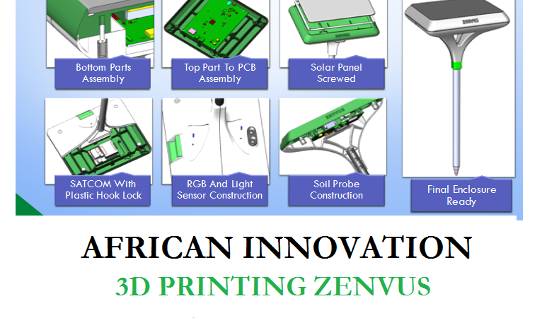 African Innovation – How Zenvus Is Using 3D Printing To Build Soil Fertility Sensors