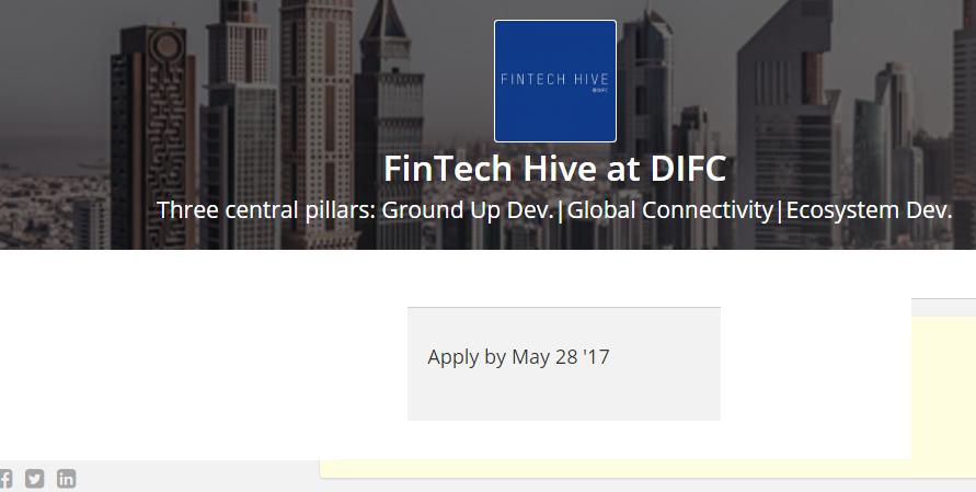 Dubai invites African fintech entrepreneurs – apply to FinTech Hive at DIFC accelerator