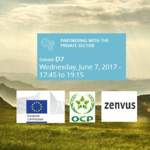 European Commission Invites Zenvus To European Development Days (EDD 2017)