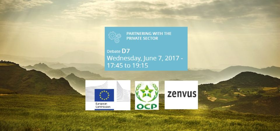 European Commission Invites Zenvus To European Development Days (EDD 2017)