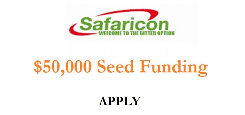 Kenya: Safaricom Offering $50,000 In Seed Funding