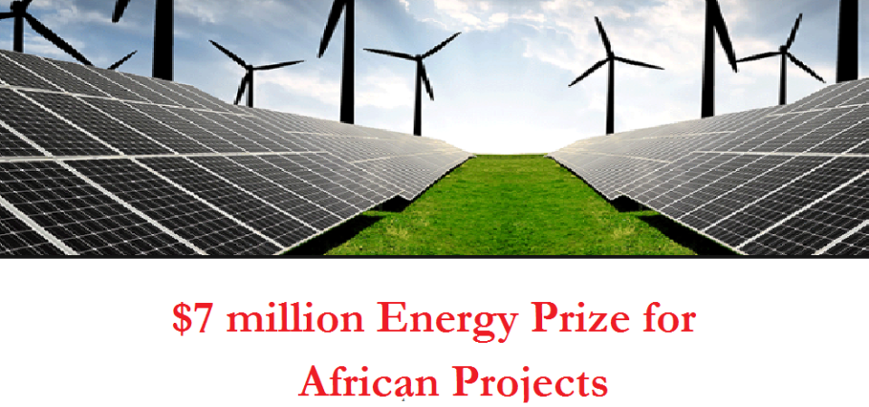 $7 million energy prize competition for African renewable energy projects still open