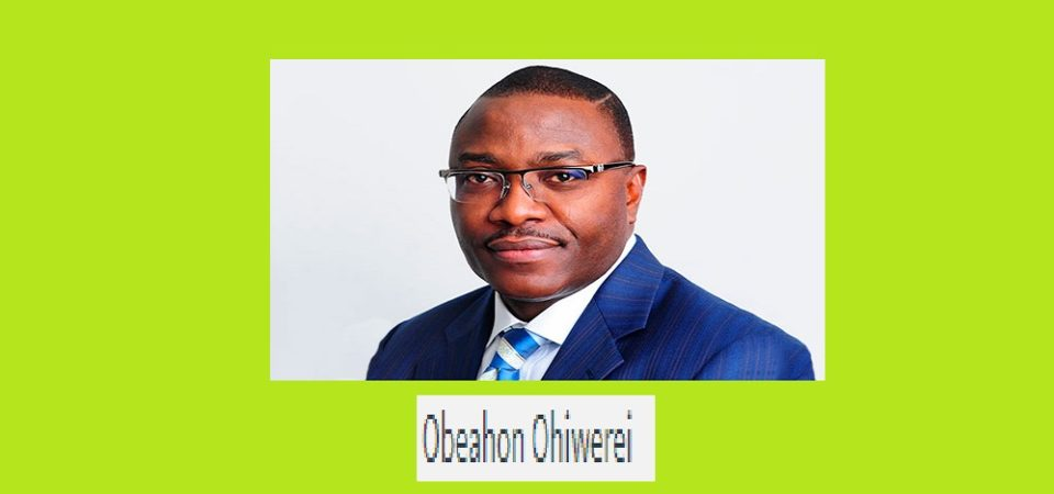 Obeahon Ohiwerei is the new MD/CEO of Keystone Bank Nigeria (profile)