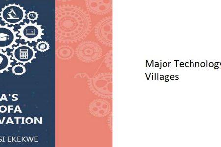 10.2 – Major Technology Villages