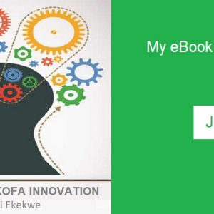 My Book, Africa's Sankofa Innovation, Is Launched