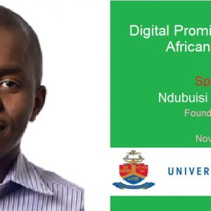 """My German Govt-Funded Talk in South Africa """"Digital Promise of Exponential African Agriculture"""""""