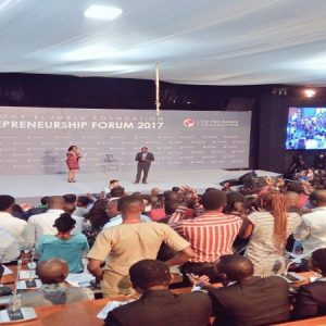 Thank You Tony Elumelu Entrepreneurs For Standing Ovation After My Talk