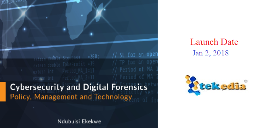 "New Book ""Cybersecurity and Digital Forensics"" Out Jan 2"