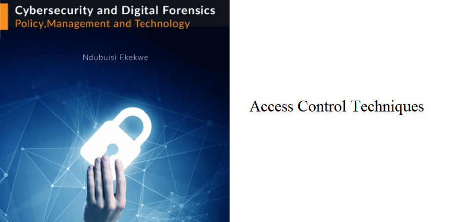2.0 – Access Control Techniques