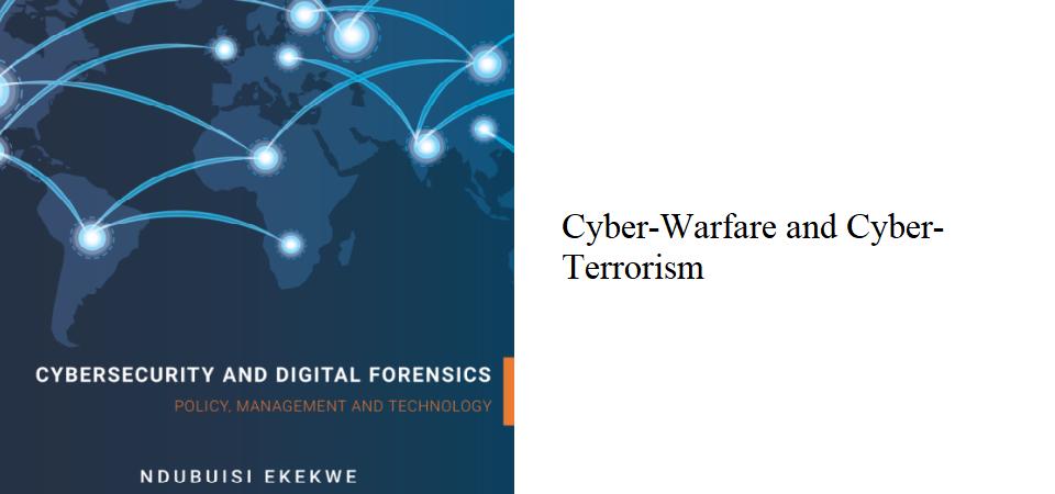4.3 – Cyber-Warfare and Cyber-Terrorism