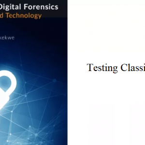 8.3 – Testing Classification