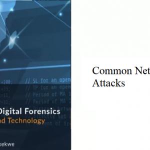 12.1 – Common Network Attacks