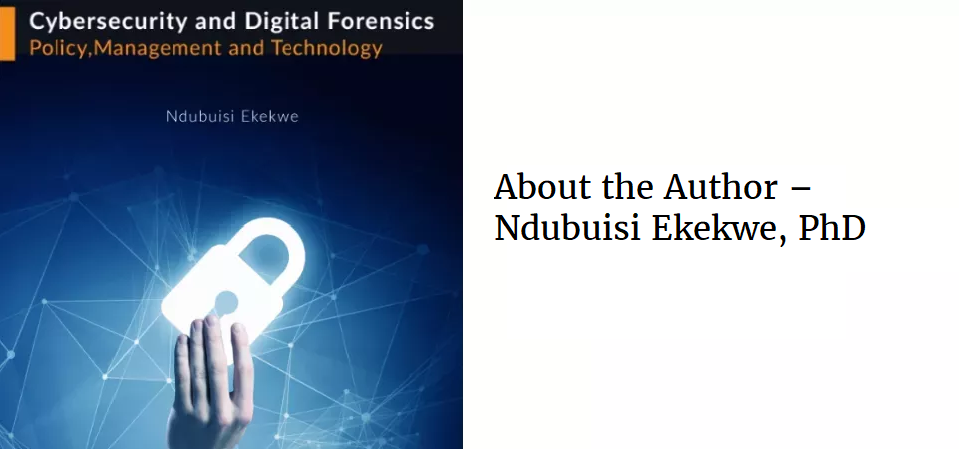 About the Author – Ndubuisi Ekekwe, PhD
