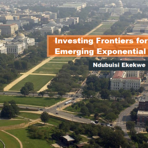 "My talk in Upcoming ATIGS USA – ""Investing Frontiers for Africa's Emerging Exponential Agriculture"""