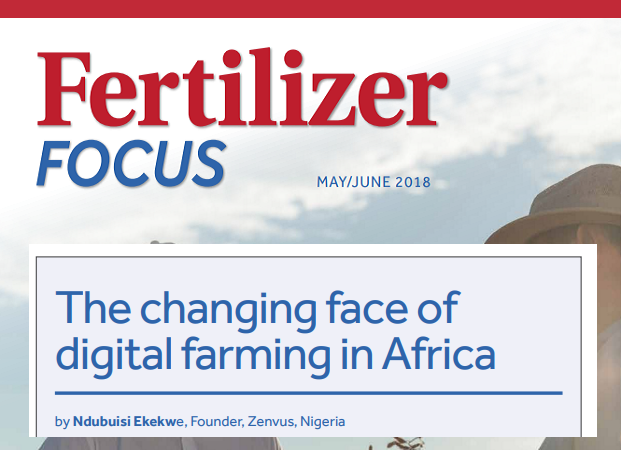 UK-Based Fertilizer Focus publishes my piece on Smart Crop Nutrition