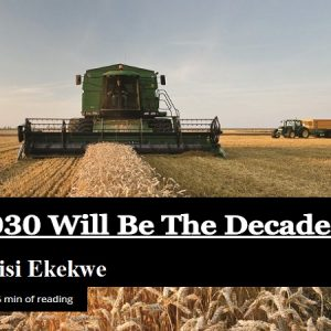 "My Forbes Africa Interview is Out – ""2020 to 2030 will be the decade of agri-tech"""