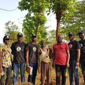 Nigerian Graduates Are Going Farming, Peatuce Joins (Photos)