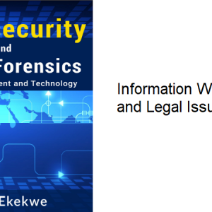 16.1 – Information Warfare & Legal Issues