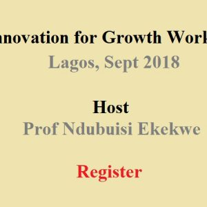 [Register] Innovation for Growth Workshop, Lagos – Sept 2018
