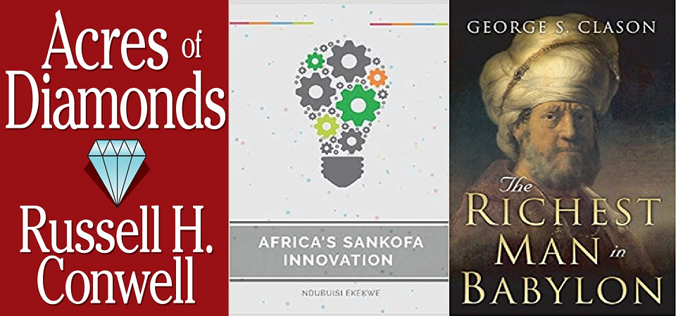Three Books I Recommend