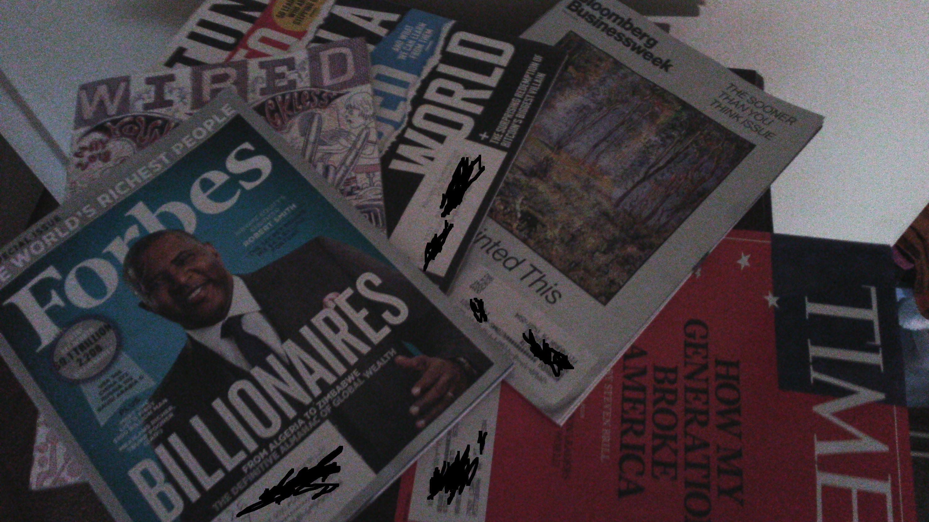 ndubuisi Ekekwe magazines
