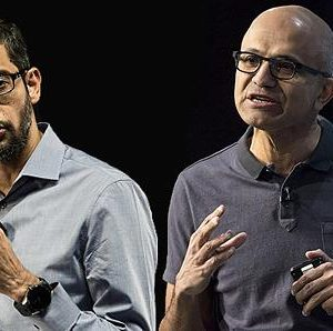 The Cap Battle: Microsoft's Platform, Google's Aggregation