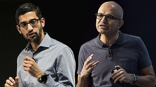 The Cap Battle: Microsoft's Platform, Google's Aggregation