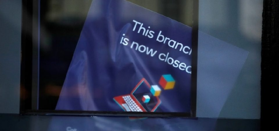 This Bank Branch Is Now Closed!