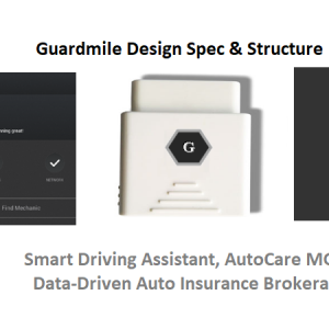 Guardmile Design Spec and Structure – Smart Driving, AutoCare & Insurance