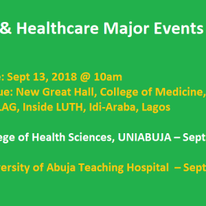 Medcera's Ndubuisi Ekekwe Speaking in UNILAG, UNIABUJA & UATH – Date and Time