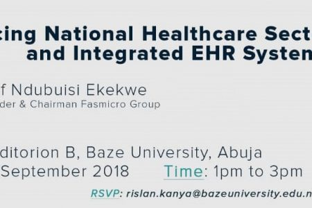 Join me at Baze University Abuja on Tuesday – 1pm