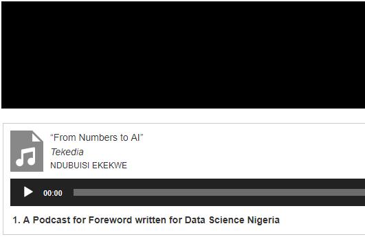 From Numbers to AI – Podcast w/ Ndubuisi Ekekwe