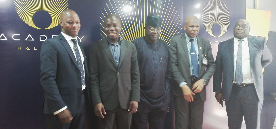 Ndubuisi Ekekwe with Leaders of Obafemi Awolowo University