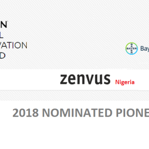 "Bayer Foundations Honours Zenvus as ""Pioneer"" in Aspirin Social Innovation Award"