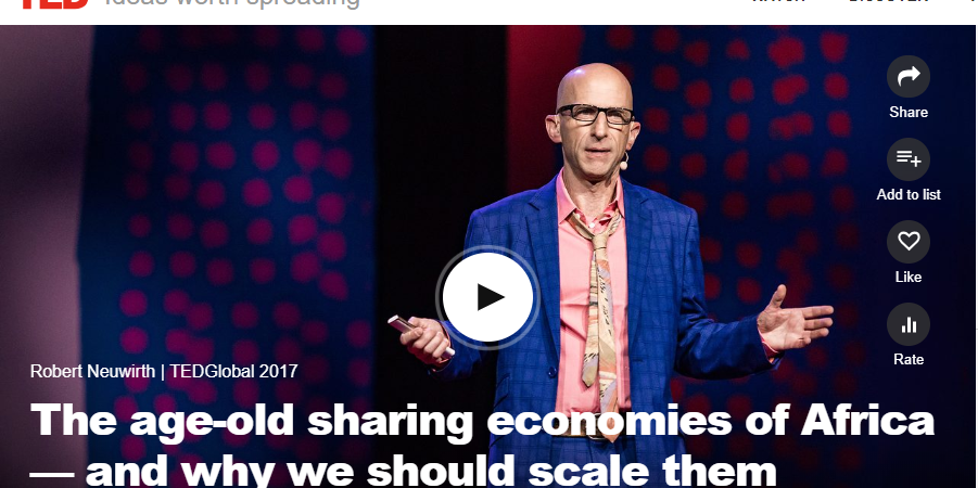 "[Full TED Video] ""Igbo apprenticeship system that governs Alaba Int'l Market is the largest business incubator platform in the world"" Robert Neuwirth"