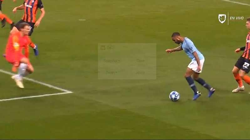 The Manchester City's Raheem Sterling Penalty [Video]