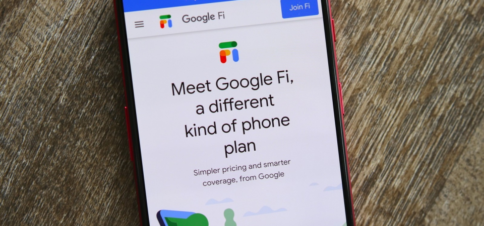 The Google Fi Mobile Service Plan