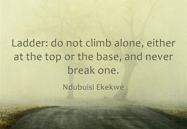 Ladder – Never Break One