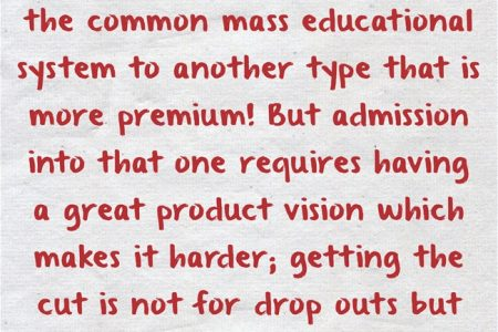 The Illusion of Dropouts
