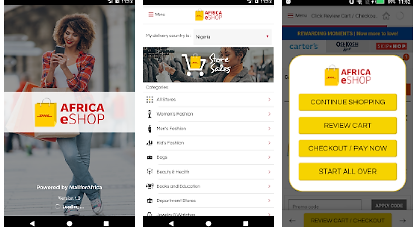 DHL Goes Ecommerce in Africa with DHL Africa eShop