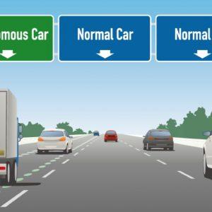 China Plans Dedicated Lanes for Autonomous Vehicles