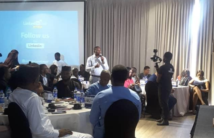 Summary of My Today's Speech at LinkedIn Local Lagos on Careers